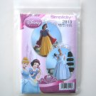 Disney Princess Misses Adults Costumes Size 14 - 20 Simplicity Pattern 2813