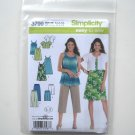 Misses Womens Dress Tunic Shorts In K Designs Easy To Sew Simplicity Sewing Pattern 3799