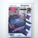 Simplicity Pattern 1960 Designed with Love Sara Bedroom Accessories Pillow Quilt