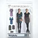 Simplicity Pattern 2305 Size 4 - 12 Cynthia Rowley Misses Womens Dresses Skirt Purse