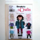 Doll Clothes Elaine Heigl Wrights Simplicity Pattern 5733