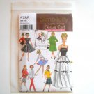 Barbie Doll Clothes Design By Teri Simplicity Pattern 5785