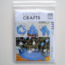 Christmas Decorating Ornaments Crafts McCalls Pattern M3777