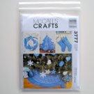 Christmas Decorating Ornaments Crafts McCalls Pattern M3777