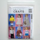 Crafts Clothes For 18 inch Dolls McCall Sewing Pattern M3900