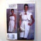 Vogue Designer Pattern V1154 Out Of Print Badgley Mischka Size 6 - 12 Jacket and Dress