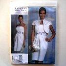 Jacket and Dress Vogue Designer Pattern V1154 Out Of Print Badgley Mischka Size 14 - 20