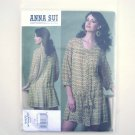 Vogue Designer Pattern V1177 Out Of Print Anna Sui Size 16 - 22 Petite Dress and Slip