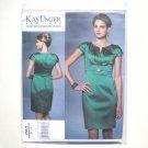 Misses Evening Dress Size 14 - 22 Kay Unger Vogue Designer Pattern V1271