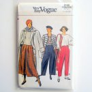 Vogue Very Easy Pattern 9120 Size 14 16 18 Misses Pants