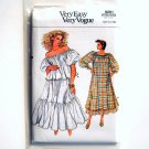 Misses Top and Skirt Size 12 - 16 Vogue Very Easy Sewing Pattern 9291