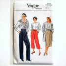 Vogue Pattern 9358 Size 12 Misses Skirt and Pants