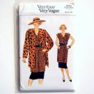 Vogue Very Easy Pattern 9360 Size 8 - 12 Misses Jacket Tunic Skirt