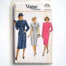 Vogue Pattern 9373 Size 12 - 16 Misses Dress