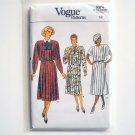Misses Dress Size 12 Vintage Vogue Pattern 9374