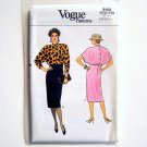 Misses Dress Vogue Pattern 9408 Size 12 14 16