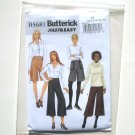 Butterick Pattern B5681 Fast Easy Size 10 - 18 Misses Culottes
