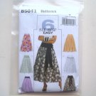 Butterick Pattern B5041 Size 16 - 22 Misses Skirt and Sash