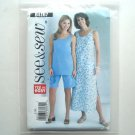 Misses Petite Top Dress Shorts Size L - XL See and Sew Pattern B4167