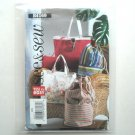 Totes Beach Bags Easy See and Sew Pattern B4169