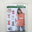 Misses Tunic Top 16 18 20 22 24 Simplicity Sewing Pattern 3750
