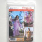 Fairy Costumes Misses HH 6 - 12 Simplicity Sewing Pattern 3632