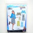 Girl Plus Jacket Pants Dress Disney Hannah Montana 8 - 16 Simplicity Sewing Pattern 3515
