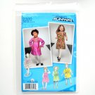 Toddlers Childs Dresses 4 - 8 Project Runway Simplicity Sewing Pattern 2320