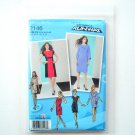 Misses Miss Petite Dresses 12 - 20 Project Runway Simplicity Sewing Pattern 2146