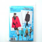 Womens Misses Coat Jacket Cape 12 - 20 Project Runway Simplicity Sewing Pattern 1942