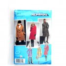 Misses Petite Coat 14 - 22 Project Runway Simplicity Sewing Pattern 2311