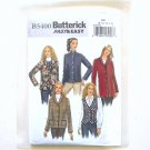 Misses Vest And Jacket Fast Easy Size 8 - 14 Butterick Sewing Pattern B5400