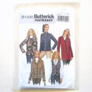 Misses Vest And Jacket Fast Easy Size 16 - 24 Butterick Sewing Pattern B5400