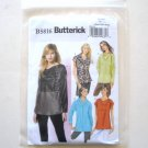 Pullover Top Size XS - M Butterick Sewing Pattern B5816