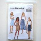 Misses' Skirt Shorts Size 16 - 22 Butterick Pattern B5649