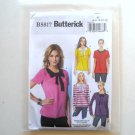 Misses' Top Size 6 - 14 Butterick Pattern B5817