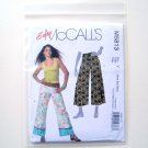 Misses Miss Petite Pants 2 Lengths Size XS S McCalls Sewing Pattern M5813