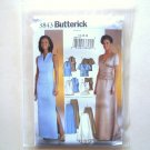 Evening Top Skirt Misses Size 14 - 18 Butterick Pattern 3843
