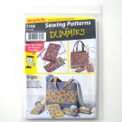Accessories Tote Bags For Dummies Simplicity Sewing Pattern 5598