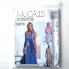 Petite Dress Unlined Jacket Scarf 8 - 12 McCalls Sewing Pattern 3152