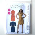 Misses Womens Dresses Belt Plus Size 18W - 24W McCalls Sewing Pattern M6279