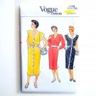 Misses Dress Size 12 - 16 Vintage 1985 Vogue Pattern V9288