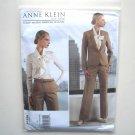 Misses Jacket Pants Size 14 - 22 Out Of Print Anne Klein Vogue Designer Pattern V1325