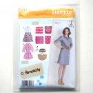 Misses Petite Traveler Shirt Dresses Size 14 - 22 Lisette Simplicity Pattern 2246