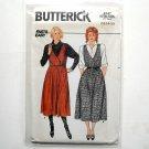 Jumper Misses Size 12 14 16 Vintage Butterick Sewing Pattern 6747