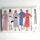 Dress Top Skirt Misses Size 12 Vintage Butterick Sewing Pattern 6941