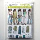 Misses Pants Jacket Top Simplicity Sewing Pattern 4699