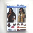 Jacket Capelet Wrap Scarf Simplicity Sewing Pattern 4349