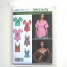Misses Tops Simplicity Sewing Pattern 4317