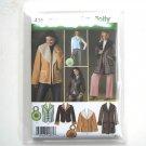 Misses Coat Jackets Vest Simplicity Sewing Pattern 4356